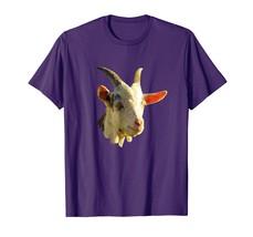 Awesome Comic Cartoon Poly Polygon Goat Head T-Shirt Tee - $17.99+