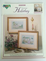 Color Charts Rick Harper's Victorian Holiday Mediterranean Seascape Cross Stitch - $4.00