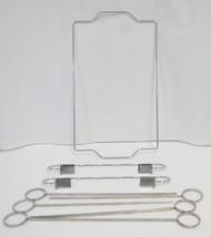 Weber Original 6405 Kabob Set 6 Skewers Nickel Plated Steel image 2