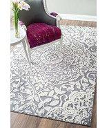 Vintage Area Rug Contemporary Luxury Design Grey 3D Effect 5x8 Contempor... - $263.61