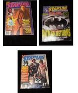 Starlog Magazine Lot Blade Runner Avengers Robots Batman Alien Beauty & ... - $28.99