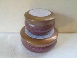 Colonial Candle Scented copper tin Collection-LAVENDER & SAGE 12 oz & 5.... - €26,63 EUR