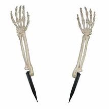 Crazy Bonez W80016 Skeleton Arms Lawn Stakes, Bone - $9.81