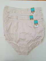 0dfff2f5f201 3 Vanity Fair Ravissant Tailored Nylon Brief 15712 Panty Size 7 Large Beige  NWT - $19.75