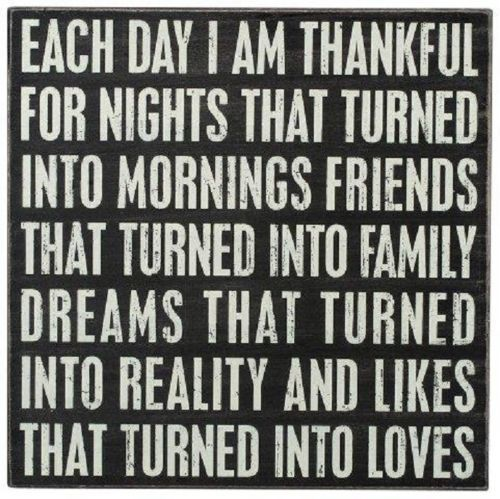 Primitives by Kathy I Am Thankful Sign