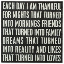 Primitives by Kathy I Am Thankful Sign  - $39.00