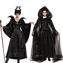 Halloween Maleficent Cosplay Costumes Horror Clothing Set - $82.50+