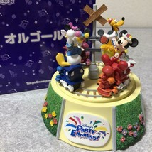 Tokyo Disneyland Party Express music box figure doll Mickey Minnie Donal... - $113.85