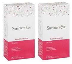Summer's Eve Sweet Romance Douche 2 Box Pack - $16.78