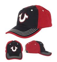 True Religion Men's Two Toned Horseshoe Logo Baseball Cap Sports Strapback Hat