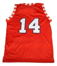 Bobby Joe Hill #14 Texas Western New Men Basketball Jersey Orange Any Size image 2