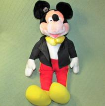 "27"" APPLAUSE MICKEY MOUSE Vintage Stuffed 60th ANNIVERSARY Korea TUXEDO ... - $34.65"