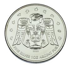 2009 Canada 1 oz Silver Thunderbird Totem,  2010 Vancouver Olympics - $49.50