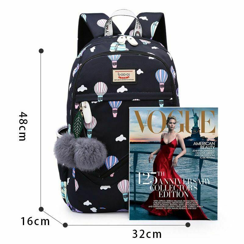 Women Backpack Travel Anti Theft Design Large Capacity Teenage Girl School Bags image 3