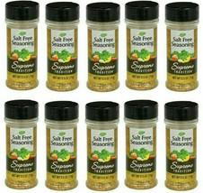( LOT of 10 ) Supreme Tradition Salt-Free Seasoning Blend 2.5 ozEa Bottl... - $37.61