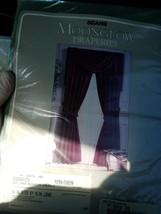 Sears Moonglow Draperies Fern Green - $24.29