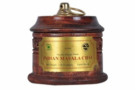 Indian Masala Tea 1.76 Oz with Cinnamon & Cardamom Flavour(25 Cups), Pop... - $26.17