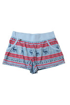 Jane And Bleecker Blue Knit Printed Shorts Size XS - $14.84