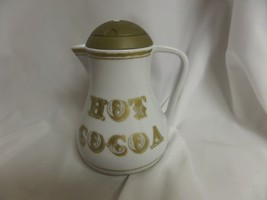 Vintage Chef'n Hot Cocoa Chocolate Ceramic Retro Pitcher - $29.92
