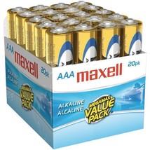 Alkaline Batteries (AAA; 20 pk; Brick)  - $9.99