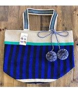 Authentic 100% Wayuu Colombian Extra Large Beach tote weekender Shopper ... - £152.95 GBP