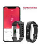TOOBUR Fitness Tracker, Smart Watch Activity Tracker with Heart Rate Ped... - $35.00