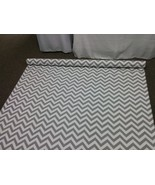 CHEVRON AISLE RUNNER Colors and Size grey navy blue red black pink purpl... - $159.00