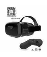 Samsung Galaxy S8 S8 Plus Virtual Reality Headset 3D VR & Bluetooth Remo... - $34.88