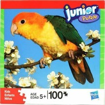 Hasbro 100 Piece Junior Puzzle Parrot Ciaque New Sealed - $16.69