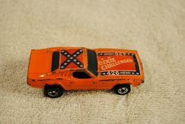 Vintage 1970 Hot Wheels Orange 426 Hemi Dixie Challenger  Hong Kong image 3