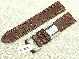 Alfa euro genuine leather watch band 22mm Premium calf  fits hamilton too image 3