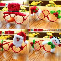 Christmas Ornaments Glasses Frames Decor Evening Party Toy kids Rabbit G... - £2.78 GBP