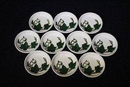 Lot of 10 Coasters In CALIFORNIA IVY By Metlox - Poppytrail - Hand Painted - $89.99