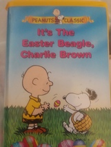 VHS Tape Peanuts Classic It\s The Easter Beagle, Charlie Brown Preowned - $5.99