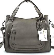 New Nwt Jessica Simpson $108 Tashani Grey Fog Satchel Crossbody Bag - $55.00