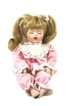 """1999 Royalton Collection 7"""" Porcelain Doll Blonde Hair Little Girl with ... - $9.12"""