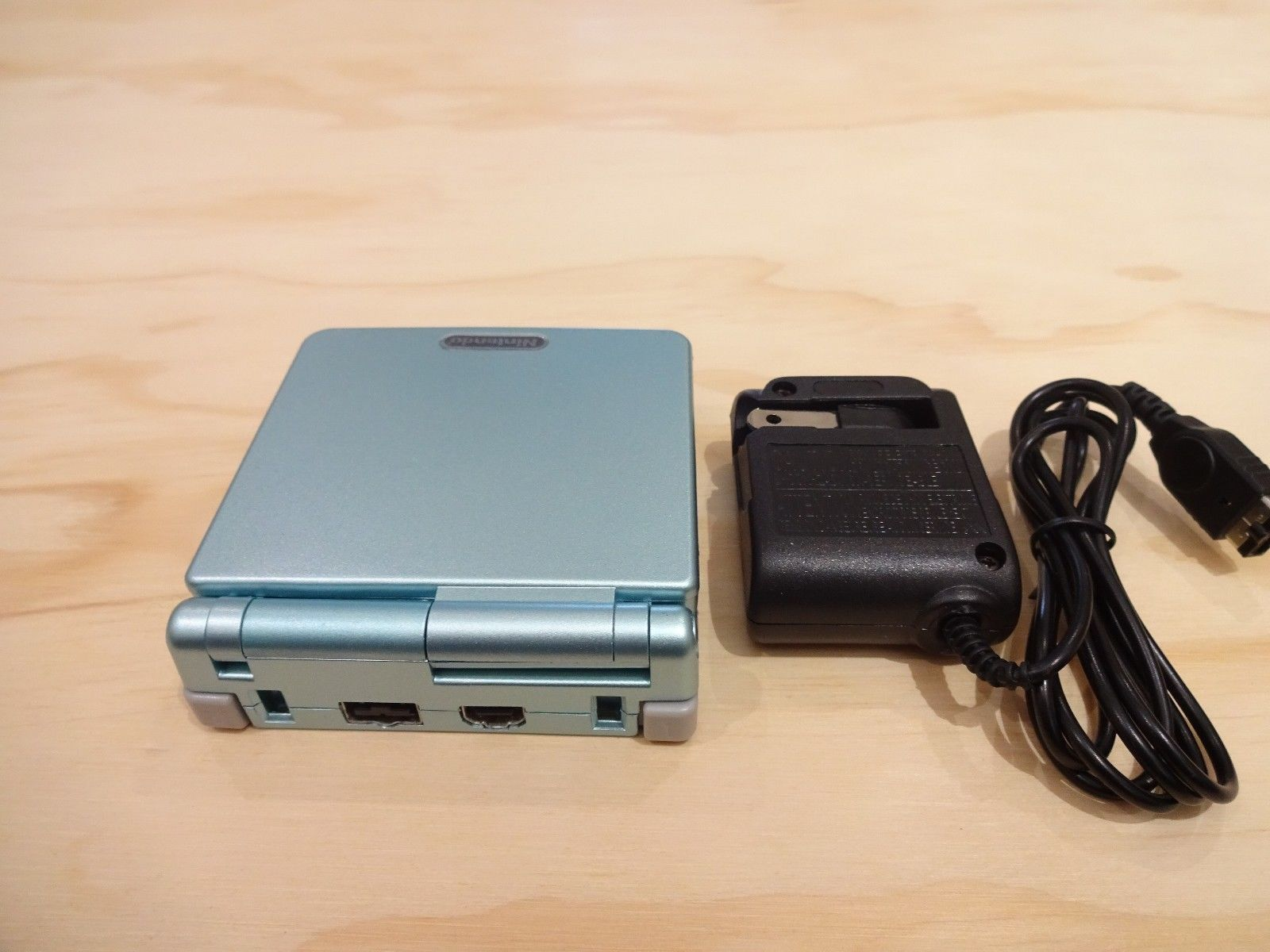 Nintendo Game Boy Advance GBA SP Pearl Blue System AGS 101 Brighter MINT NEW