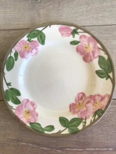 "Franciscan Desert Rose Dinner Plates Set 2 10 5/8"" Made in England 1995 image 2"