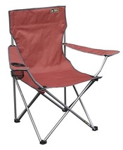 Simply Durable Steel Frame Quik Folding Relax Quad Camp Chair - Bright Red - €20,41 EUR