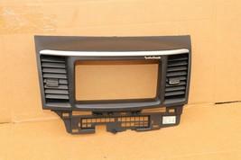 08-10 Mitsubishi Lancer Center Dash Navi Radio Screen Bezel Trim - ROCKFORD