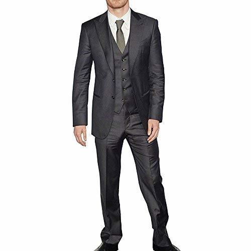 X-Men Days of Future Past Michael Fassbender 3 Piece Black Suit