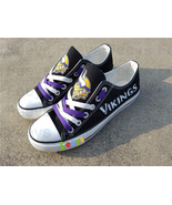 Minnesota vikings shoes vikings sneakers super bowl fashion birthday gif... - $55.00+