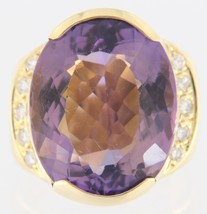 Women's 18kt Yellow Gold Cluster ring - $999.00