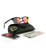 Ray Ban Sunglasses Clubmaster RJ9050S 100S/6Q Matte Black 45 16 125 - $51.30