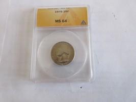 1976 , Washington Quarter , ANACS , MS 64 - $25.00