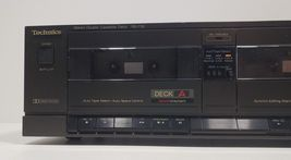 Technics Stereo Double Cassette Deck RS-T18...Tested image 4