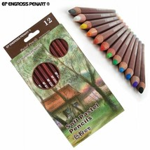 Professional Soft Pastel Pencils Sketch Pastel Colored Pencils For Art D... - $24.92