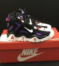 AUTHENTIC NIKE AIR BARRAGE MID QA TORONTO RAPTOR MENS 10.5 HYPER GRAPE P... - $220.77
