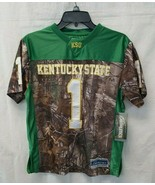 Earthletics Youth Game Day Jersey Kentucky State University, Multi, Large - $25.88