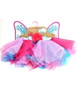 Whimsy and Wonder Girls Elastic Fairy TUTU & WING/Costume Accessory SZ-4... - $16.82